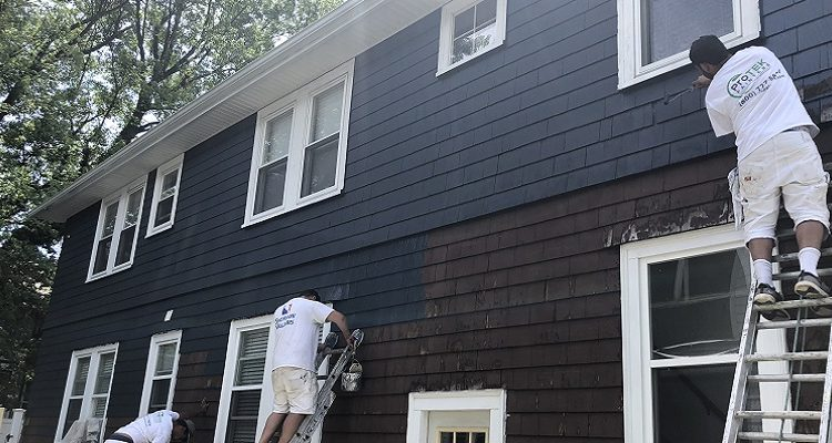 Outside House Painting