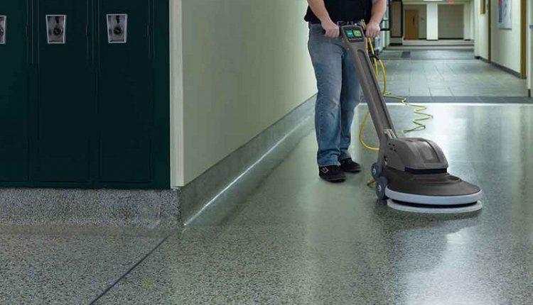 Industrial Floor Burnisher