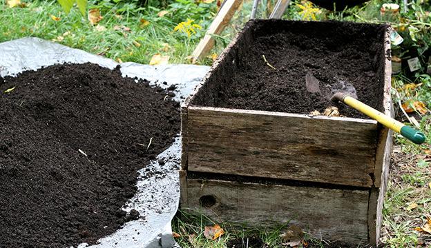 Making Potting Soil0