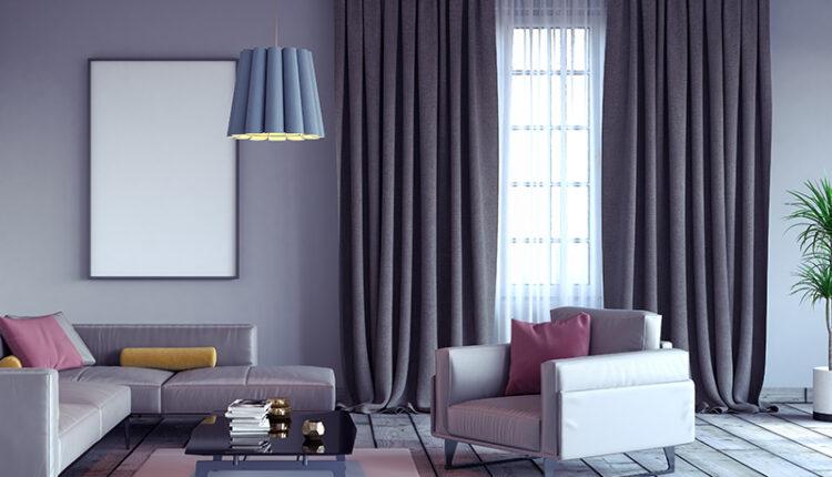 Living room, interior design 3D Render 3D illustration